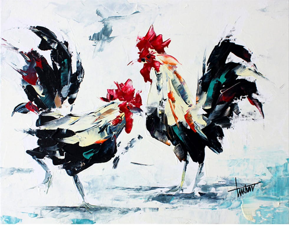 alter-ego-roosters-18-x14-inches_tushar-sabale